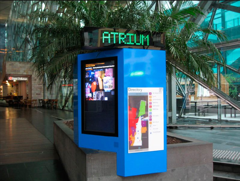Shopping Centre Digital Signage Displays - Indoor