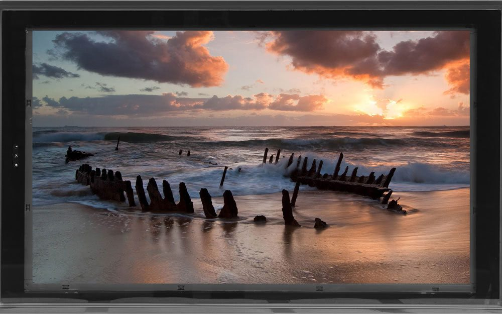 Metrospec X series lcd display front on view