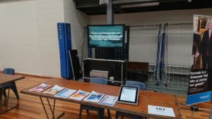 Outdoor Portable Digital Signage Used Indoors