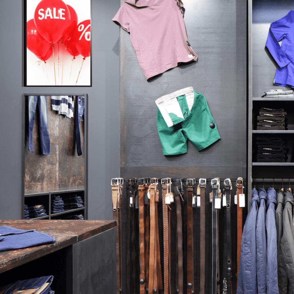 AUO UHD 4K Fashion Sale Display